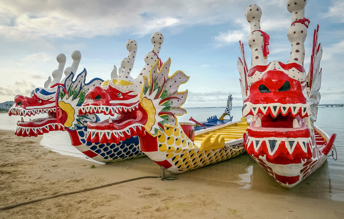 Dragon Boats & Installation Art