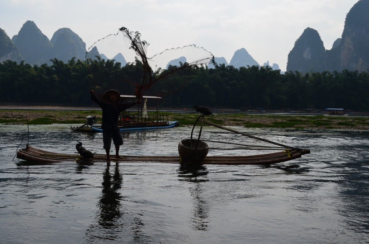 Visiting Yangshuo (and the back of the 20rmbnote)