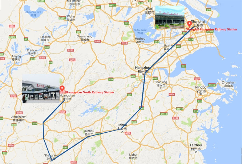 shanghai-huangshan-high-speed-train
