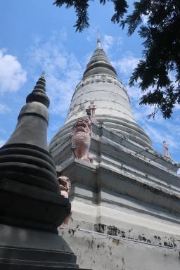 King Ponhea Yat's stupa.