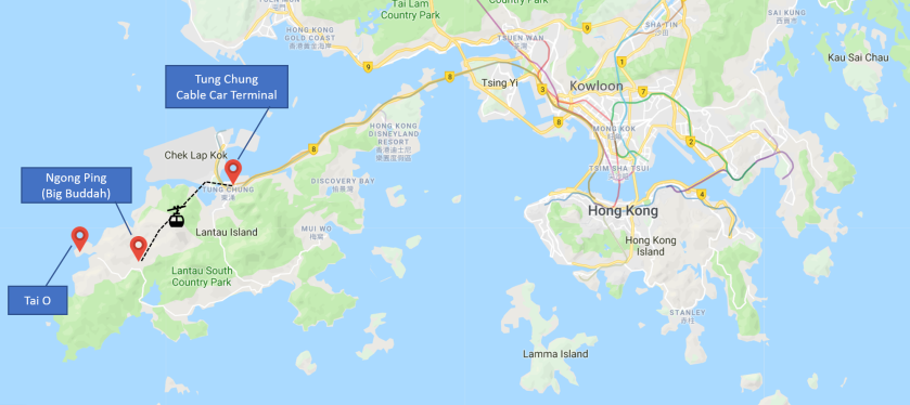Hong Kong to Lantau v2
