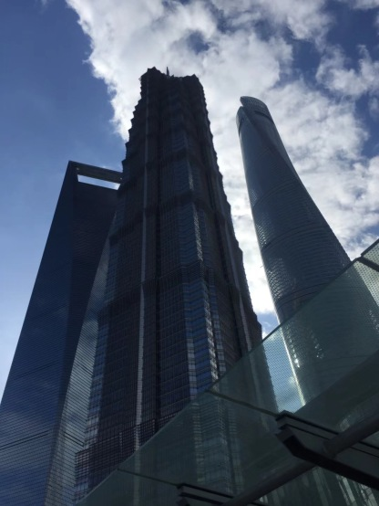 SWFC ('the bottle-opener'), JinMao Tower ('the icepick') and Shanghai Tower ('the whisk')